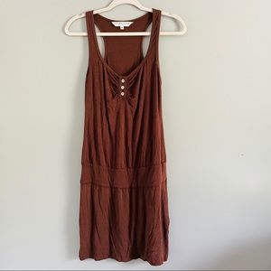 Trina Turk Los Angeles Brown Jersey Dress Size 2